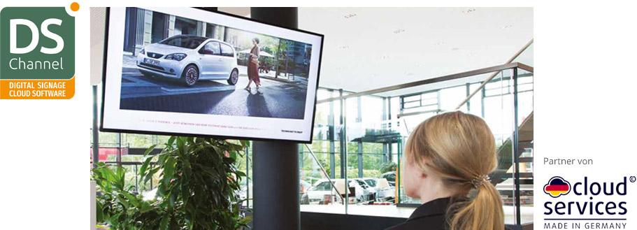 Christiansen Digital Signage-Softwarelösung - DS Channel