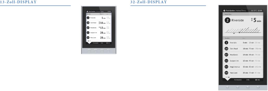 Christiansen Digital Signage-Lösungen - E-Paper-Spezifikationen: Interaktiv