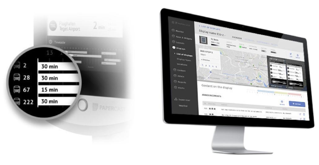 Christiansen Digital Signage-Lösungen – Papercast - Erweiterte Verwaltung