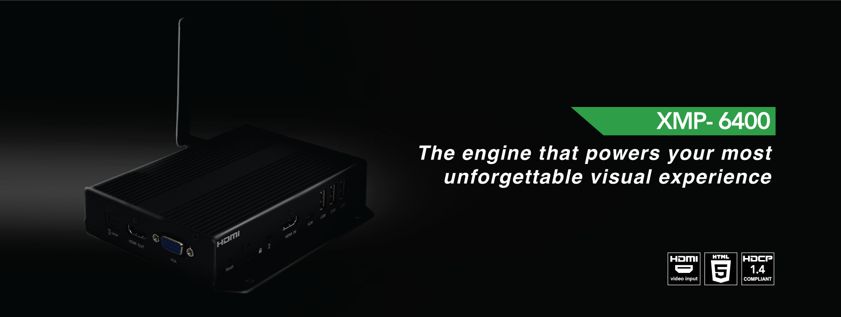Mediaplayer-XMP-6400