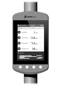 Papercast - E-Paper-Display - Digital Signage Lösungen Christiansen GmbH - 13.3 Zoll