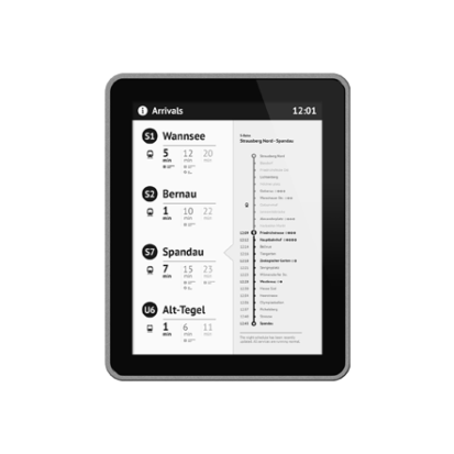Papercast - E-Paper-Display - Digital Signage Lösungen Christiansen GmbH - OpenFrame-13-Zoll