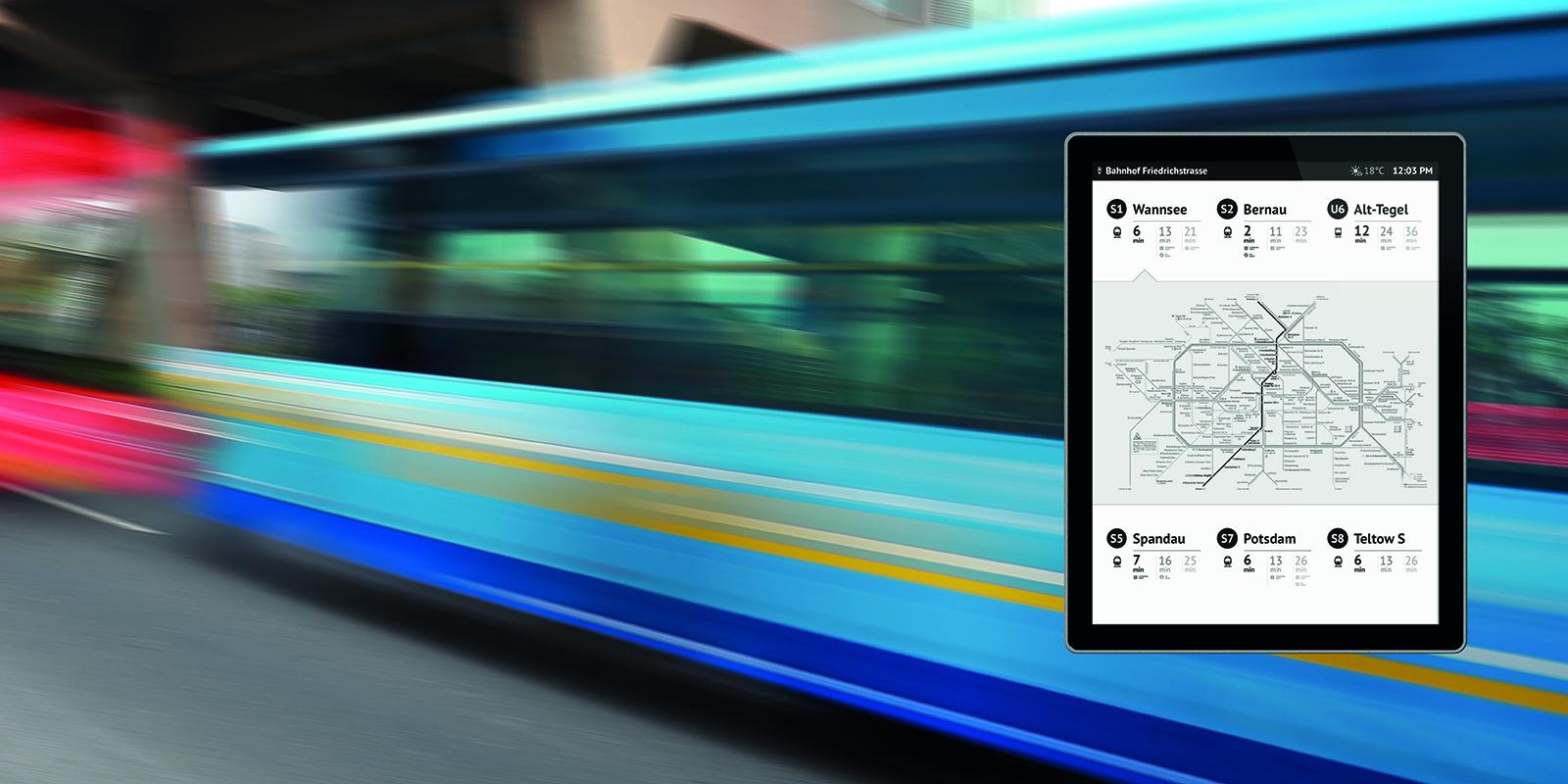 Papercast - E-Paper-Display - Digital Signage Lösungen Christiansen GmbH - OpenFrame-42-Zoll