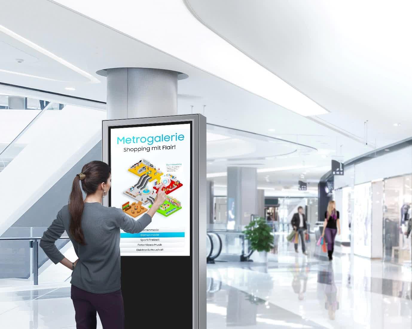Samsung Profi Displays Interactive