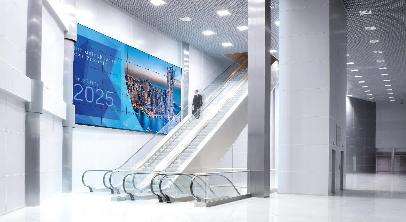 Samsung Profi Displays Videowall