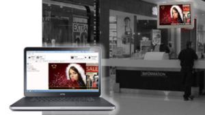 Christiansen Digital Signage-Lösungen - Einkaufszentrum